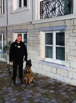 gardiennage avec Maitre chien